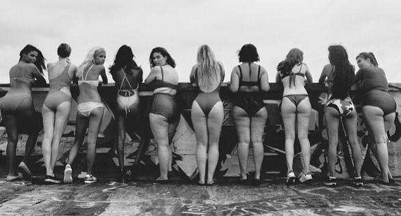"""Modelki biorące udział w """"All woman Project"""" /Instagram"""