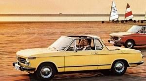 ...modelu 02 w wersji kabriolet, przygotowanego przez producenta nadwozi - firmę Baur. Do jego nazwy nawiązuje zresztą numeracja serii 2. /BMW