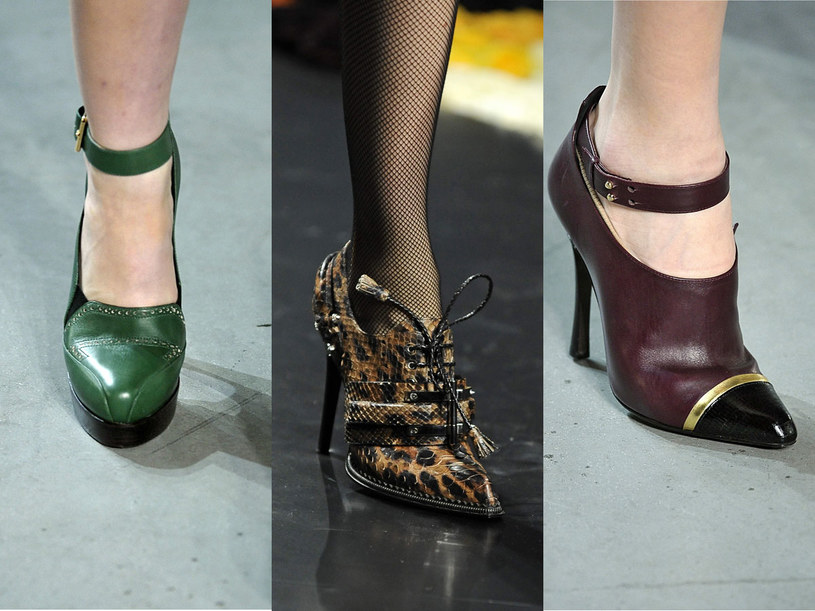 Modne są buty z czubkiem i okrągłym noskiem /East News/ Zeppelin