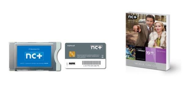 Moduł CAM CI+ sprzedawany przez nc+ /materiały prasowe