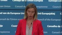 Mogherini: Brak członkowstwa w UE konsekwencją wprowadzenia kary śmierci