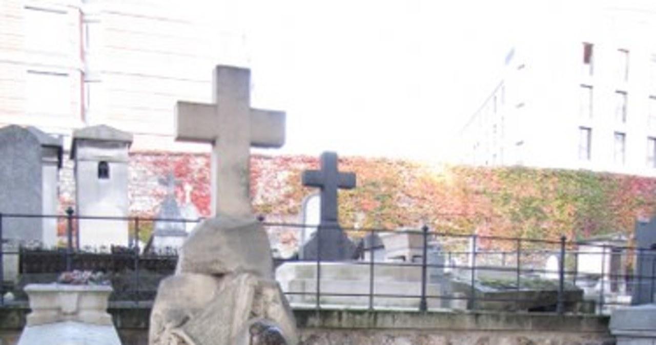 Mogiła Juliusza Słowackiego na Cmentarzu Montmartre