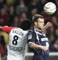 Mohamed Kallon zdobył gola na wagę remisu /AFP