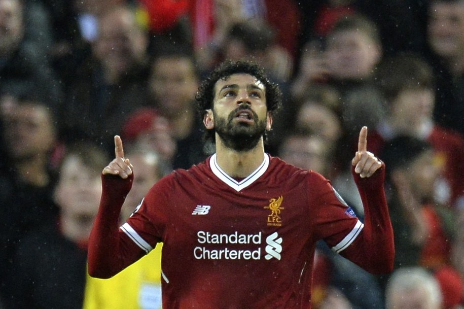 Mohamed Salah w pólfinale strzelił dwie bramki /PAP/EPA/PETER POWELL /PAP/EPA