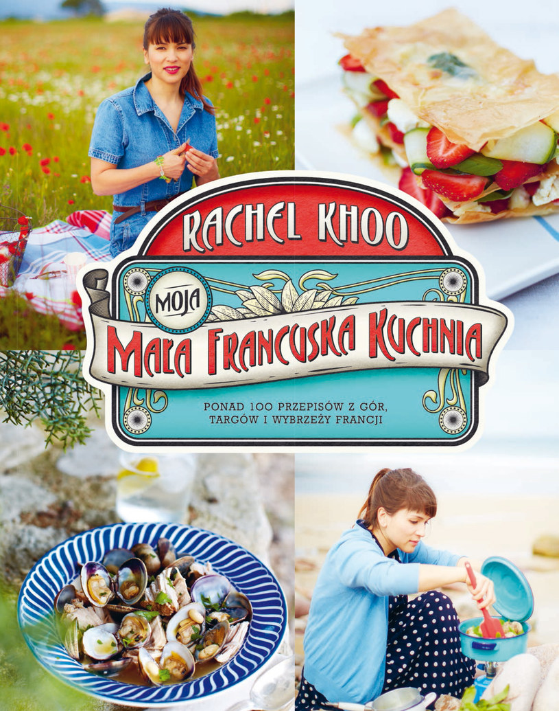Moja mała francuska kuchnia, Rachel Khoo /materiały prasowe