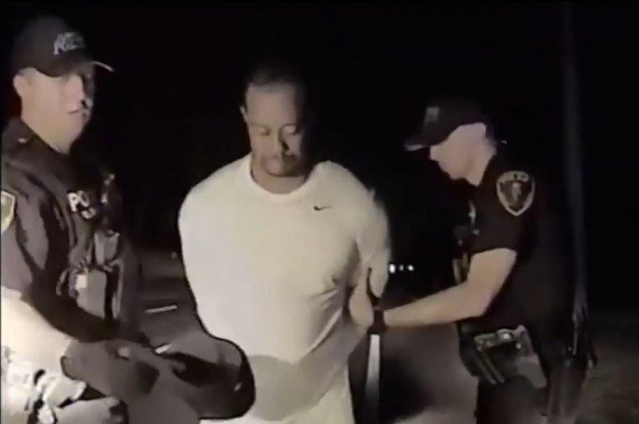 Moment zatrzymania Tigera Woodsa /JUPITER POLICE DEPARTMENT HANDOUT /PAP/EPA