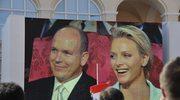 Monako: Książę Albert poślubił Charlene Wittstock