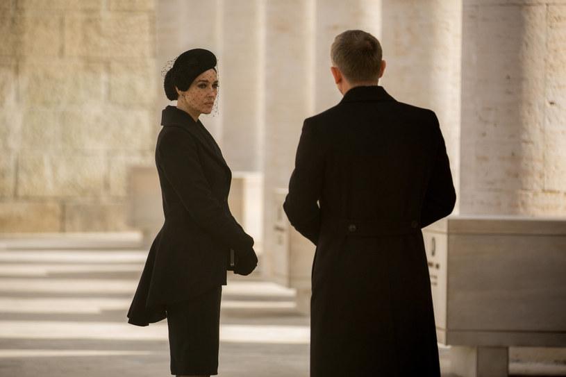 "Monica Bellucci i Daniel Craig w filmie ""Spectre"" /materiały dystrybutora"