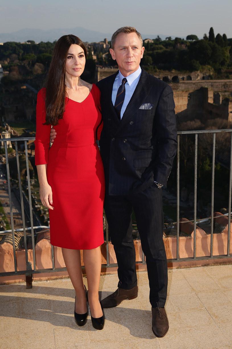 Monica Bellucci i David Craig /Getty Images