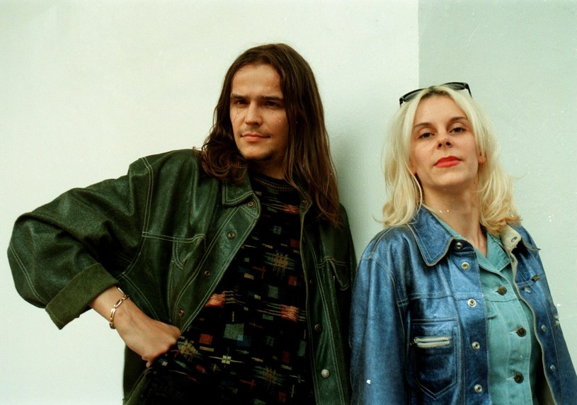 Monika i Robert Gawlińscy, 1996 r., fot. Piotr Grzybowski /East News
