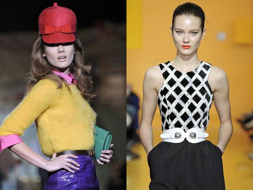 Monika Jagaciak na pokazach mody jesień-zima 2012/2013 /East News/ Zeppelin