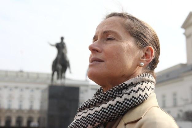 Monika Jaruzelska będzie kandydować na radną z list SLD /Stanisław Kowalczuk /East News