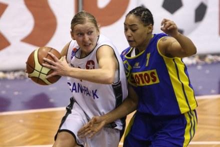 Monika Krawiec i Betty Lennox,FOT.Tomasz Markowski /Agencja Przegląd Sportowy