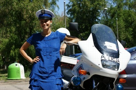 Monika Mrozowska /Policja