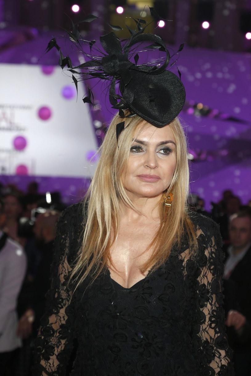 Monika Olejnik na Charytatywnym Balu Dziennikarzy /AKPA