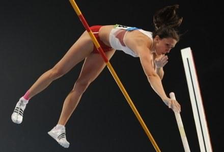 Monika Pyrek zajęła drugie miejsce /AFP