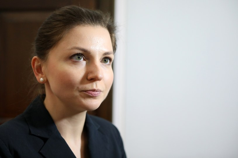 Monika Rosa z Nowoczesnej /Stanisław Kowalczuk /East News