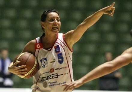 Monika Sibora wstydziła się za grę swojej drużyny /Agencja Przegląd Sportowy