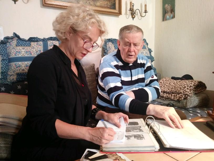 Monika Sieradzka (Deutsche Welle) rozmawia z Hermannem Lüdekingiem /Krzysztof Zając /INTERIA.PL