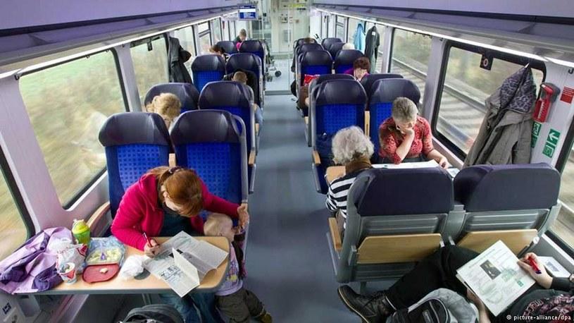 Monitoring w pociągach to za mało, by zdyscyplinować pasażerów /dpa/picture-alliance /Deutsche Welle