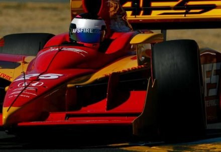 Montagny na treningu Indy Car Racing /AFP