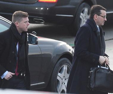 """Morawiecki przybył na Węgry. """"To pierwsza taka wizyta premiera"""""""