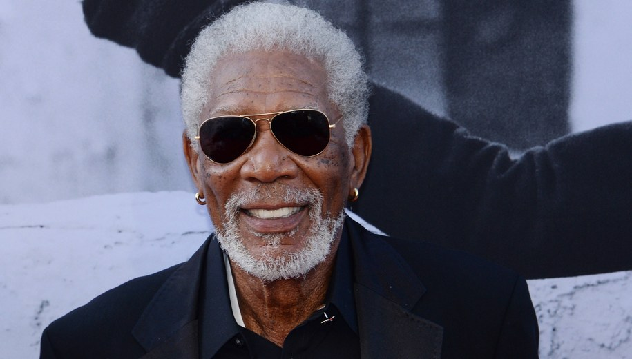 Morgan Freeman /JIM RUYMEN /PAP/EPA