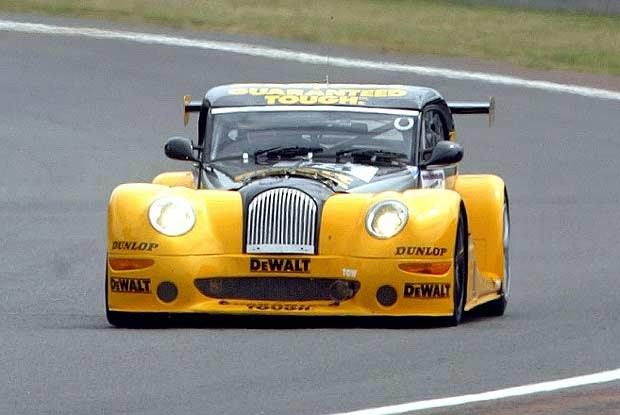 Morgan na torze Le Mans (kliknij) /INTERIA.PL