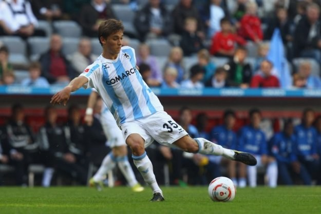 Moritz Leitner przejdzie po sezonie z TSV 1860 Monachium do Borussii Dortmund /Getty Images/Flash Press Media