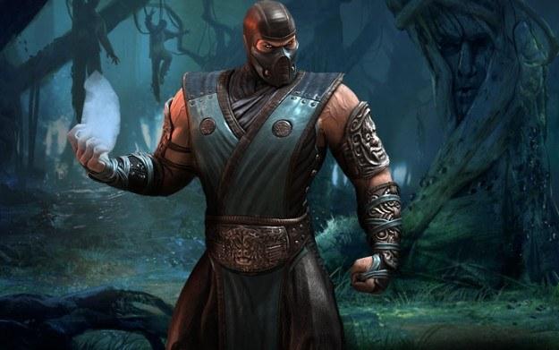 Mortal Kombat - motyw graficzny /Informacja prasowa