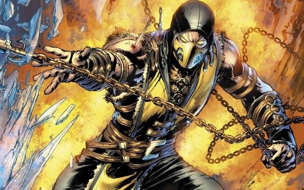 Mortal Kombat X - fragment zeszytu zaprezentowanego przez wydawnictwo DC Comics /materiały prasowe