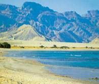 Morze Czerwone, półwysep Synajski, Egipt /Encyklopedia Internautica