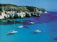 Morze Śródziemne, wybrzeże Majorki /Encyklopedia Internautica