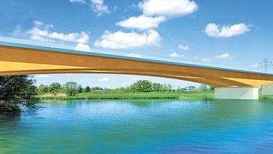Most na Odrze miał być pierwszym etapem budowy obwodnicy. To o niego walczą wrocławianie /EchoMiasta_Wrocław