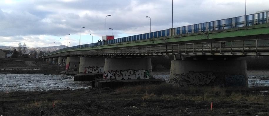 Most, z którego zeskoczyła kobieta /RMF MAXXX