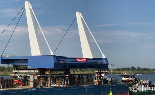 Most zwodzony na Wyspę Sobieszewską ma być gotowy po wakacjach
