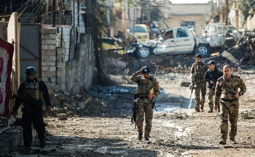 Mosul: Iraccy żołnierze podczas ofensywy /AFP