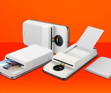 Moto Mod Polaroid Insta-Share - moduł drukujący zdjęcia wprost ze smartfona
