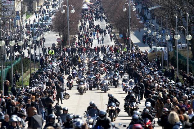Motocykle w Częstochowie /PAP