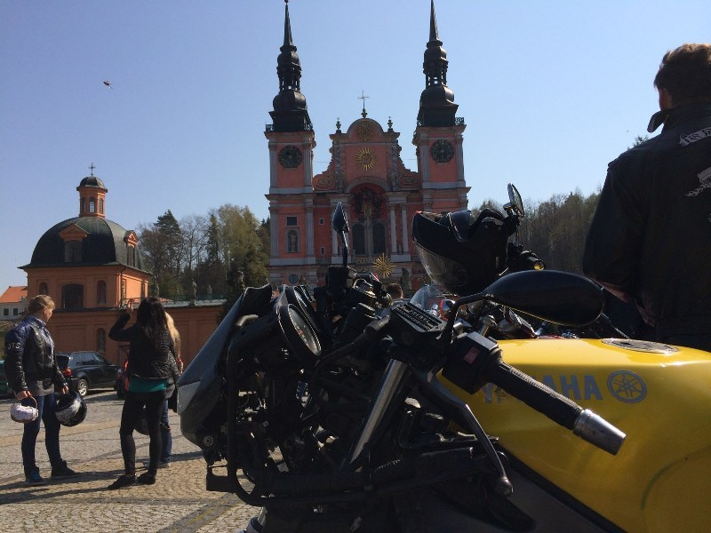 Motocykliści w Świetej Lipce /Piotr Bułakowski /RMF FM