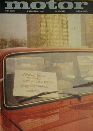 """""""Motor"""" 1/1986 /Motor"""