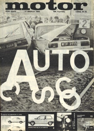 """""""Motor"""" 11/1985 /Motor"""