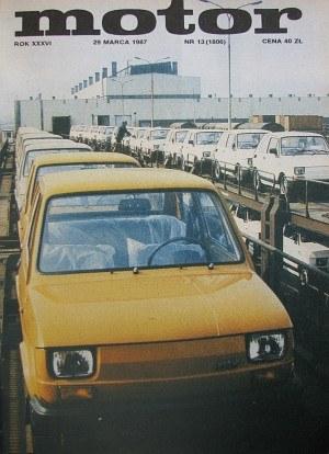 """""""Motor"""" 13/1987 /Motor"""