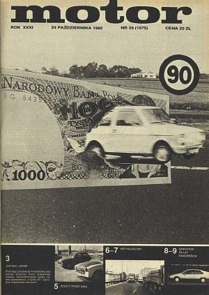 """""""Motor"""" 29/1982 /Motor"""