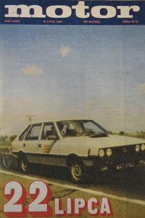 """Motor"" 29/1987 /"