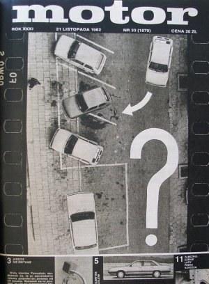 """""""Motor"""" 33/1982 /Motor"""