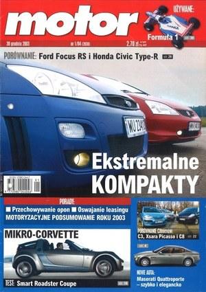 """""""Motor"""" nr 1 z 30 grudnia 2003 r. /Motor"""