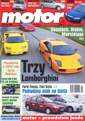 """""""Motor"""" nr 1 z 5 stycznia 2002 r. /Motor"""