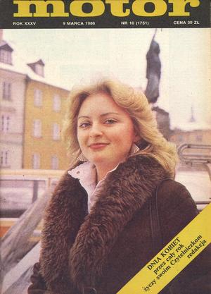 """""""Motor"""" nr 10 z 9 marca 1986 r. /Motor"""