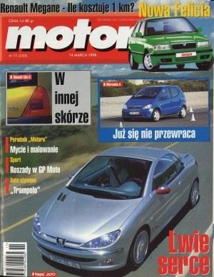"""""""Motor"""" nr 11 z 14 marca 1998 roku /Motor"""